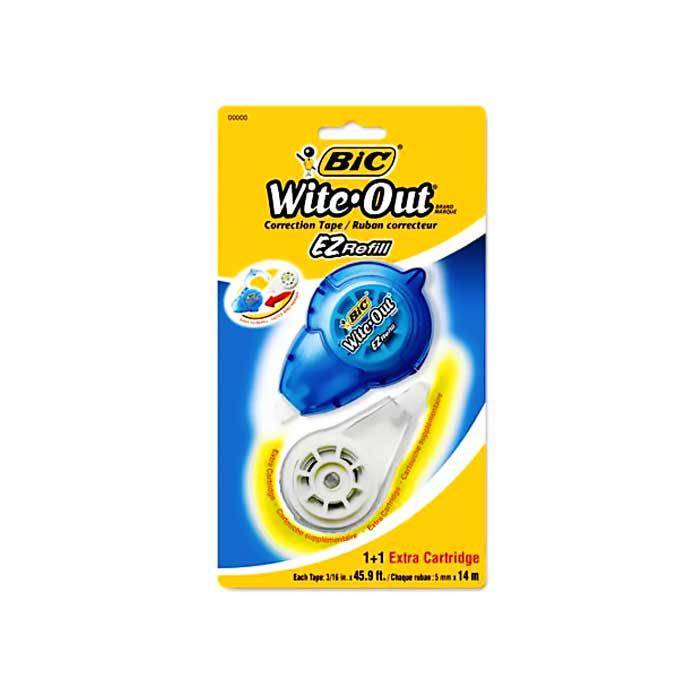 BIC Easy Correction Tape Refill