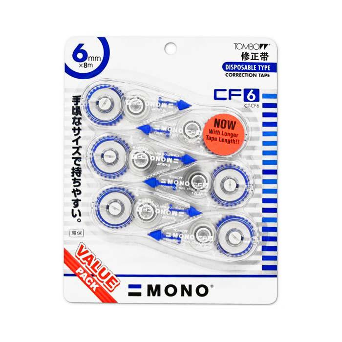 Tombow Mono Correction Tapes 6mm CT-CF6/6P