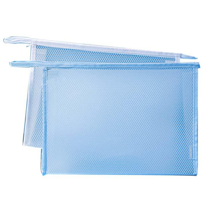 Deli Large Capacity Zip Bag A5 Size 72467