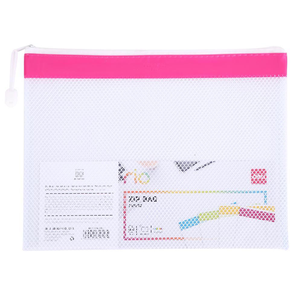 Deli Rio Mesh Zip Bag A4 EF45102