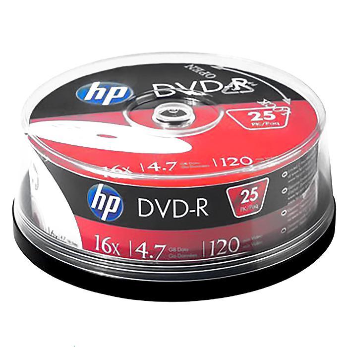 HP DVD-R 4.74GB DMA00082 25 pcs per Spindle