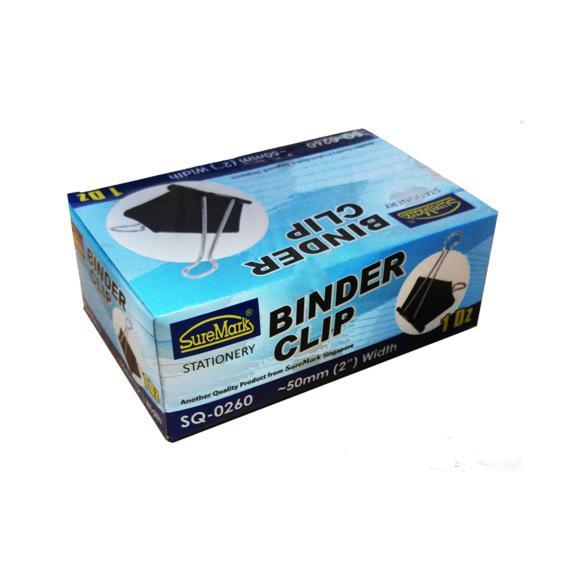 Binder Clips 50mm Box of 12 SQ-0260