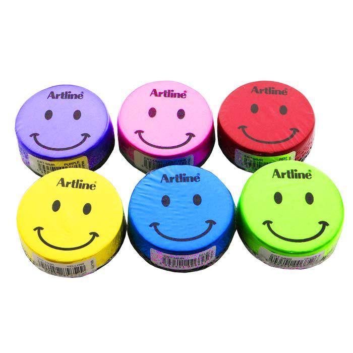 Artline Magnetic Duster Smiley Face ERT-MMR/S