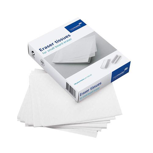 Legamaster Refill Tissue Pack of 100 (for Board Assistant Eraser Duster)
