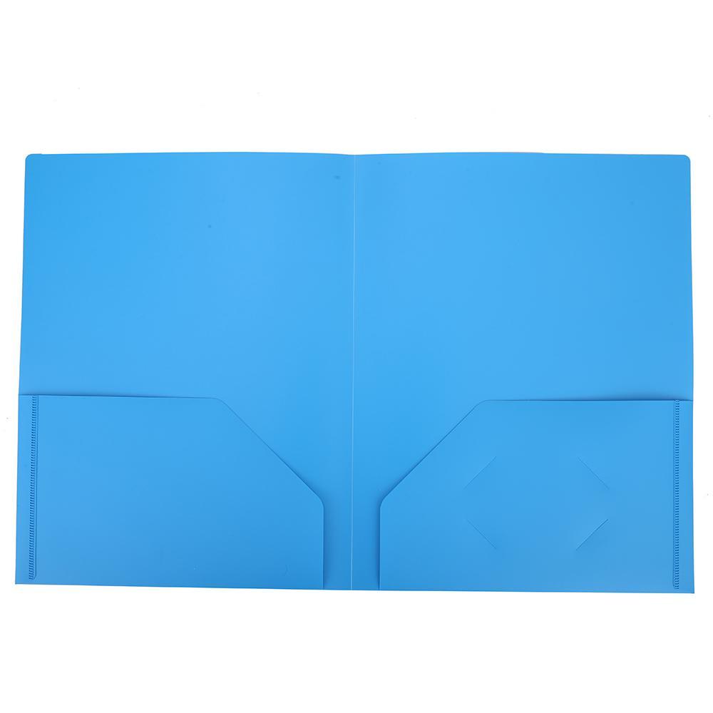 Deli 2-Pocket File Folder A4 Pack of 5 W38120