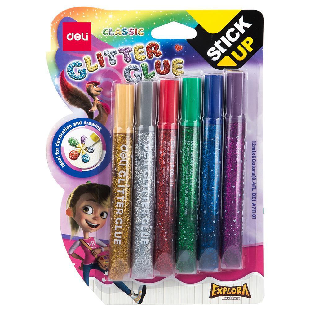 Deli Classic Glitter Glue 12ml EA71101