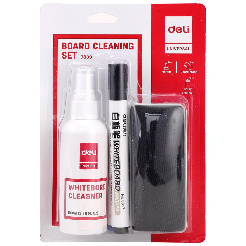 Deli Whiteboard Cleaning Set E7839