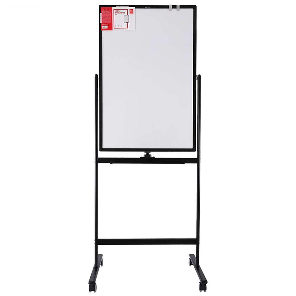 Deli Double Sided Flipchart Whiteboard Easel Stand E7893