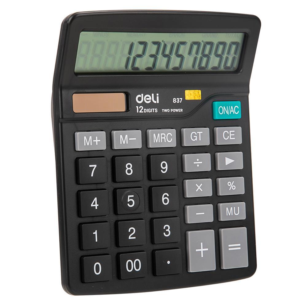 Deli Calculator 12 Digits E837
