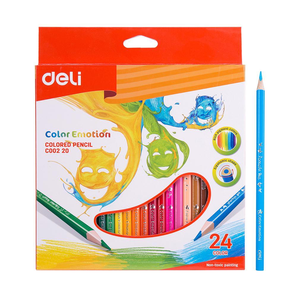 Deli 24 Colour Pencils EC00220