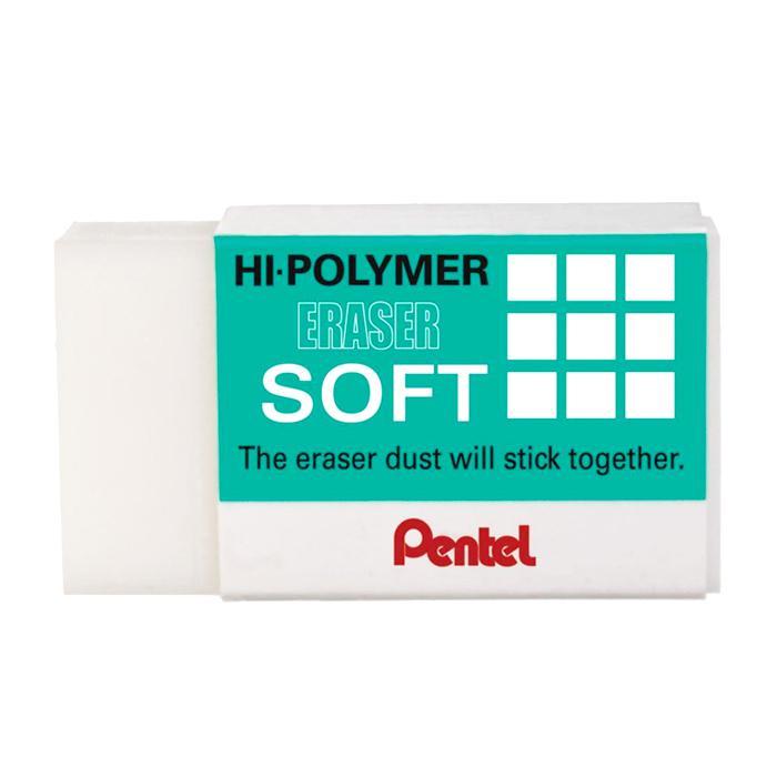 Pentel Hi-Polymer Soft Eraser ZES08