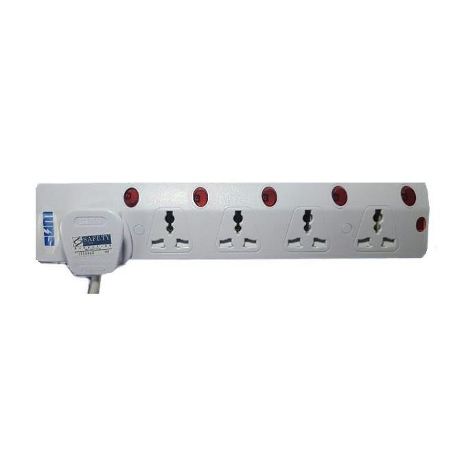 5 Way Multi Extension Socket 3M 6715N