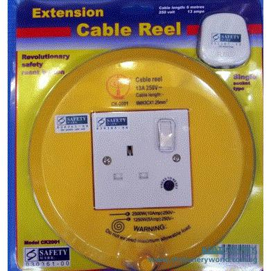 Drum Extension Cable Reel 6M CK2001
