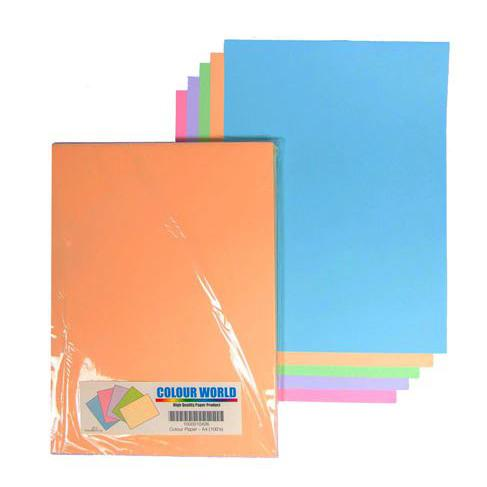 Colour Paper A4 153gsm Pack of 30