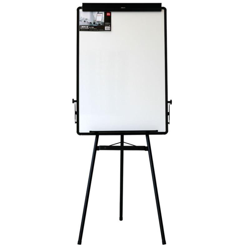Deli Magnetic Flipchart Easel with Black Frame E7892