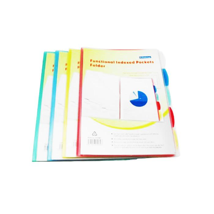 Bindermax Index Pocket Folder 01060
