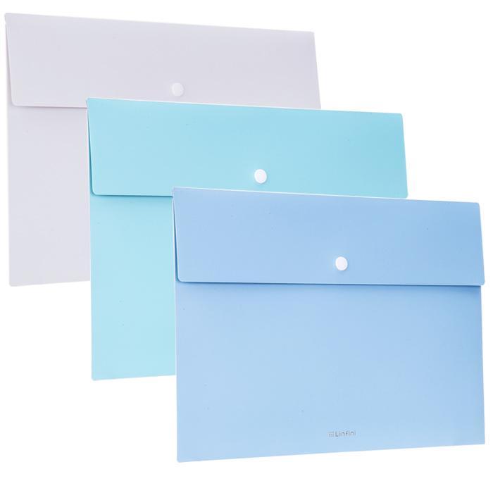 Deli Linfini Button File Folder 72416