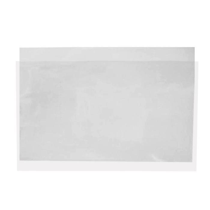 Plastic C Shape Clear Folder A4