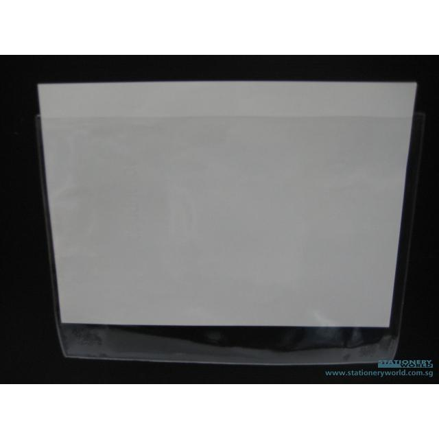 Plastic C Shape Clear Folder A4