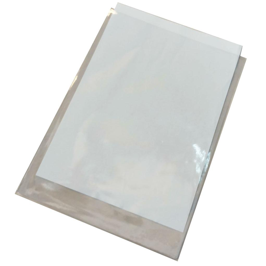Plastic U Shape Clear Folder A4