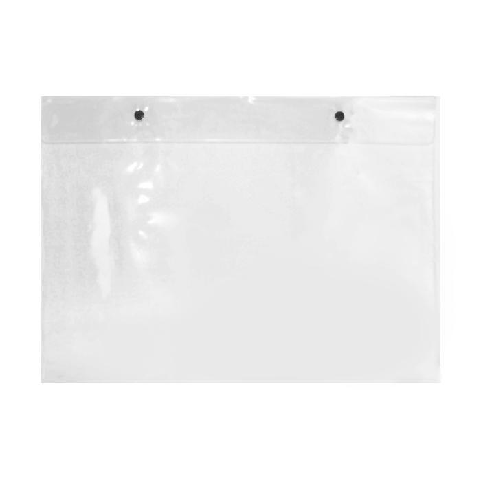 Two Button Plastic Folder A3