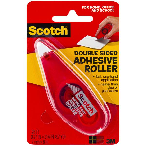 3M Scotch Double Sided Adhesive Roller 6061