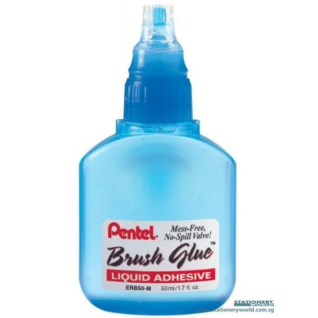 Pentel Brush Liquid Glue 50ml ERB50-M