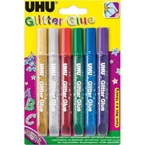 UHU Glitter Glue 10ml