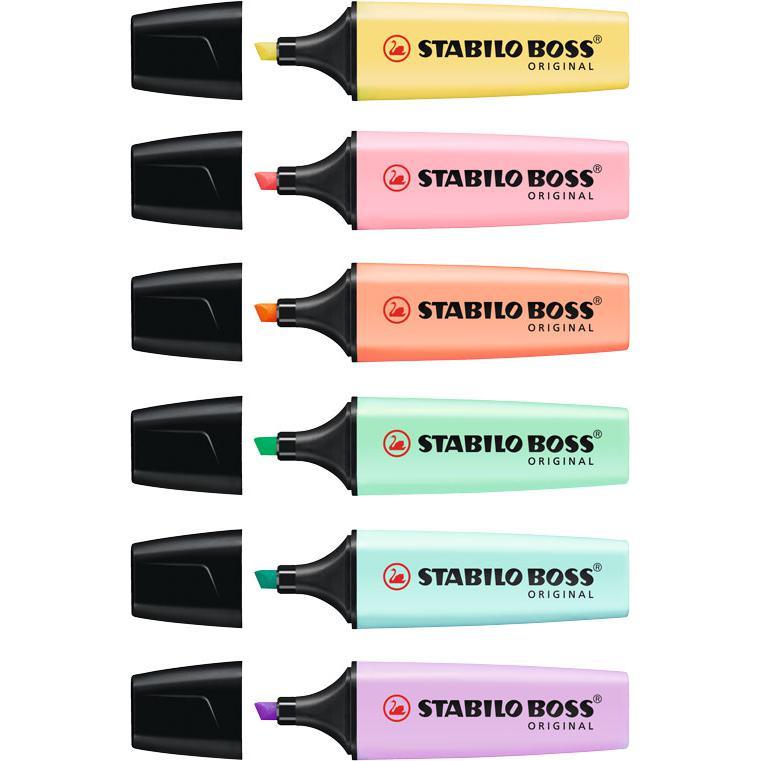 STABILO Boss Pastel Highlighter