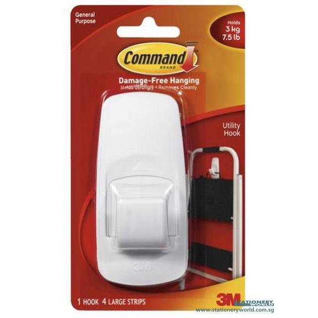 3M Command Jumbo Hook 17004ANZ