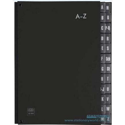 Elba Kiv Alphabet Index File 42404 (A to Z)