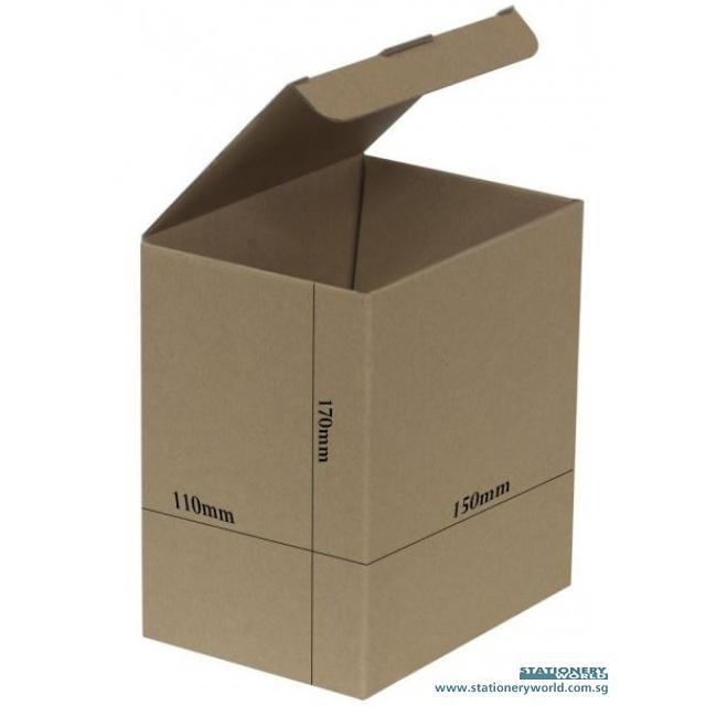 Recycled Cradboard Kraft Box 150 x 110 x 170mm Bundle of 10 G-04
