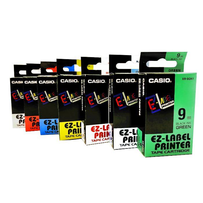 Casio EZ Label Printer Tape Cartridge 9mm XR-9