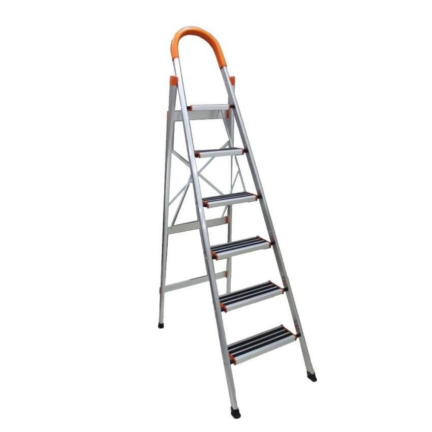 Stainless Steel 6 Step Ladder LSS06