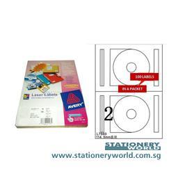 Avery Laser CD Disk Labels L7660-100