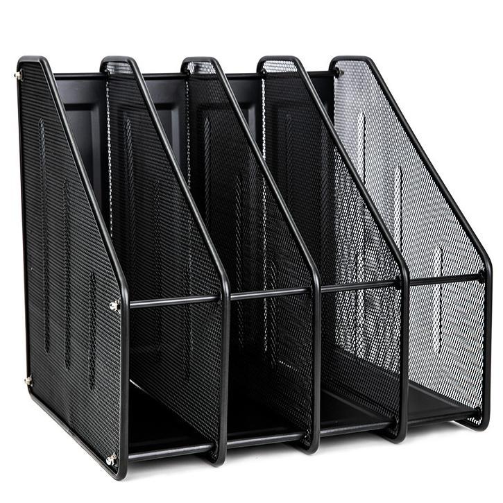 Deli 4 Compartments Mesh Magazine Holder E78994
