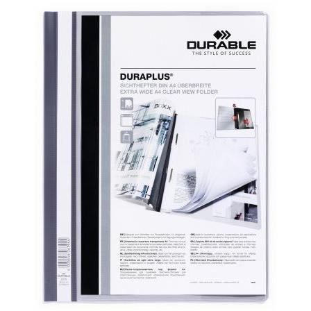 Durable Clear View Management File A4 Grey 2579