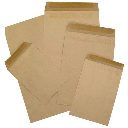 Manilla Envelope 4 x 9 Inch Pack of 500