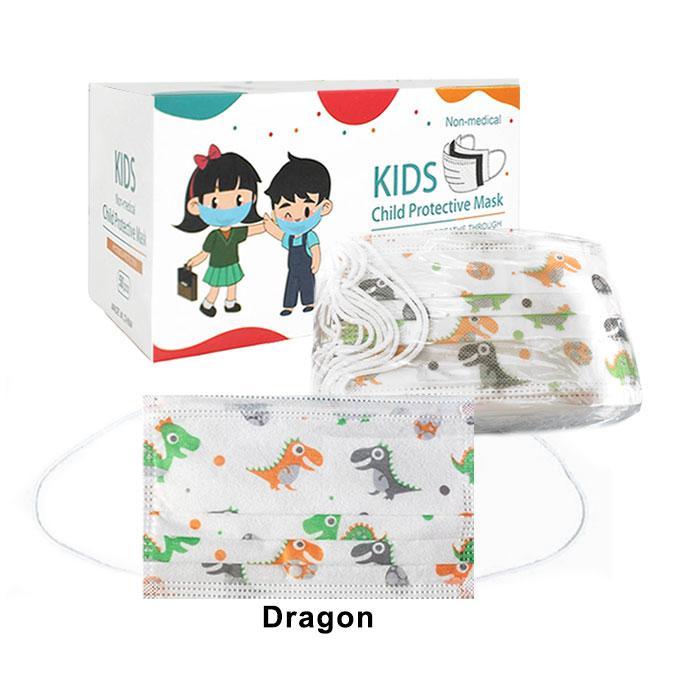 Disposable Face Mask 3 Ply Kids 50 Pcs