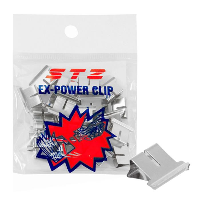 STZ Ex Power Metal Clips 6.4mm 40728