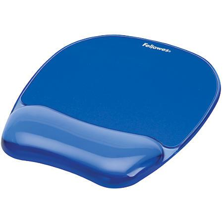 Fellowes Crystal Gel Wrist Rest Mousepad 911