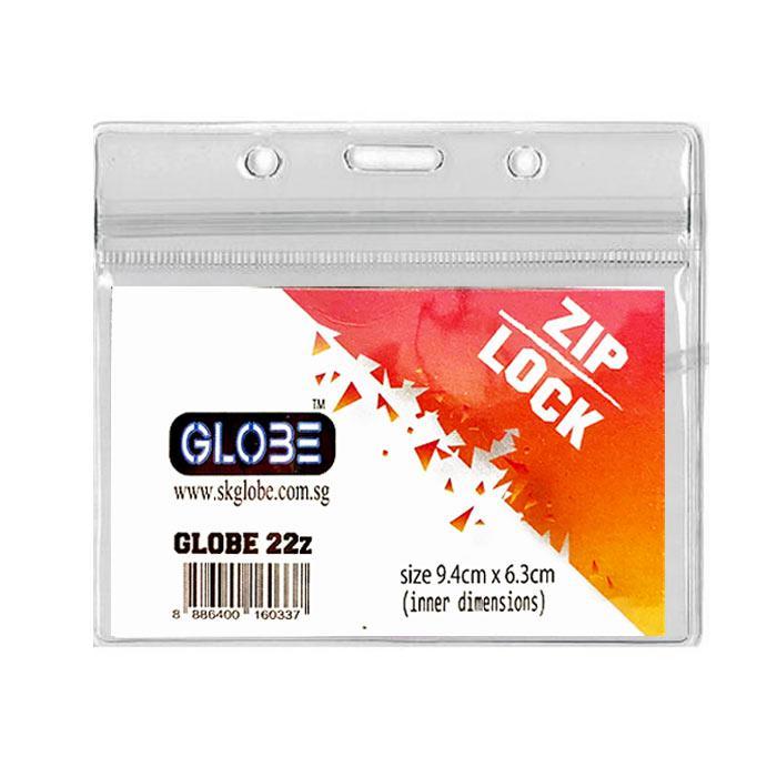 Ziplock Waterproof Soft Name Badge Holder 22Z