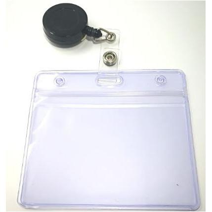 Badge Holder with Retractable Coil