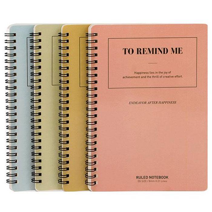 Deli Spiral Note Book B5 Size LB560-01