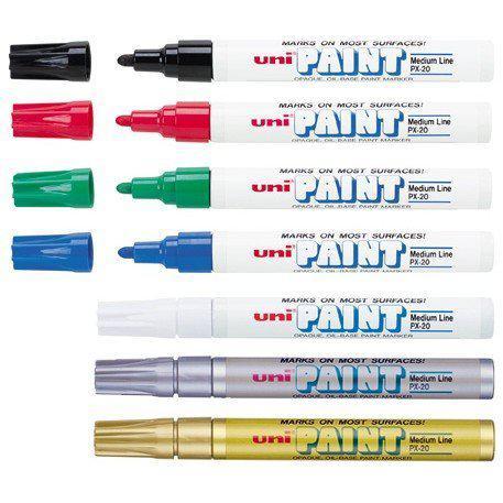 Uni Permanent Paint Marker Medium Fine PX-20
