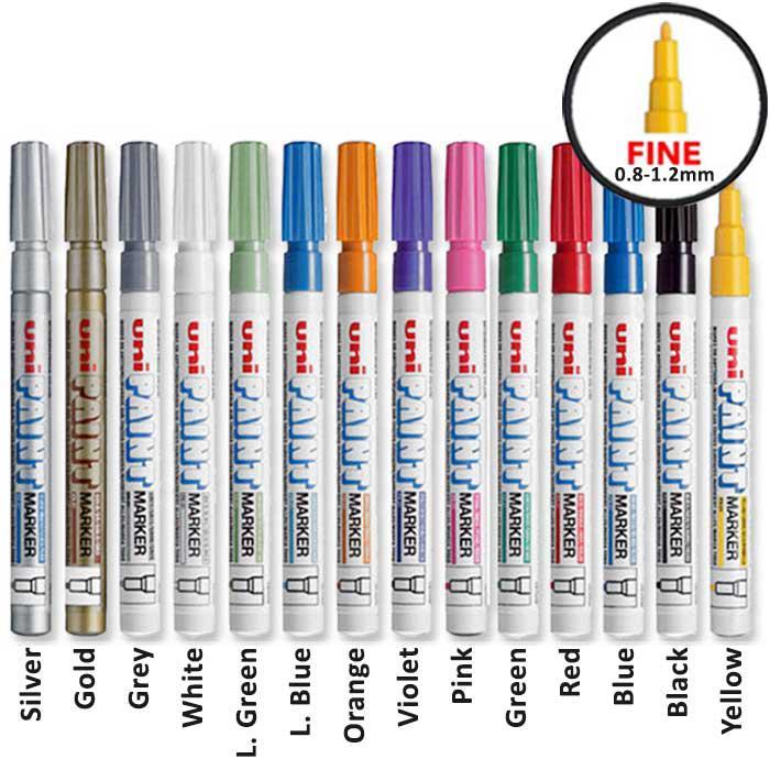Uni Permanent Paint Marker Fine PX-21