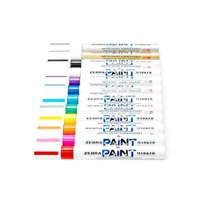 Zebra Permanent Paint Marker 2.0mm Oil Based