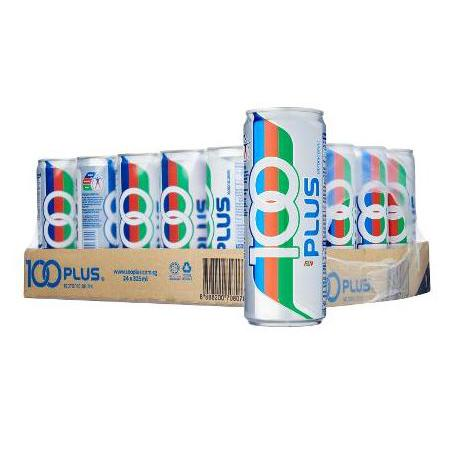 100 Plus Can Drink Original 325ml x 24