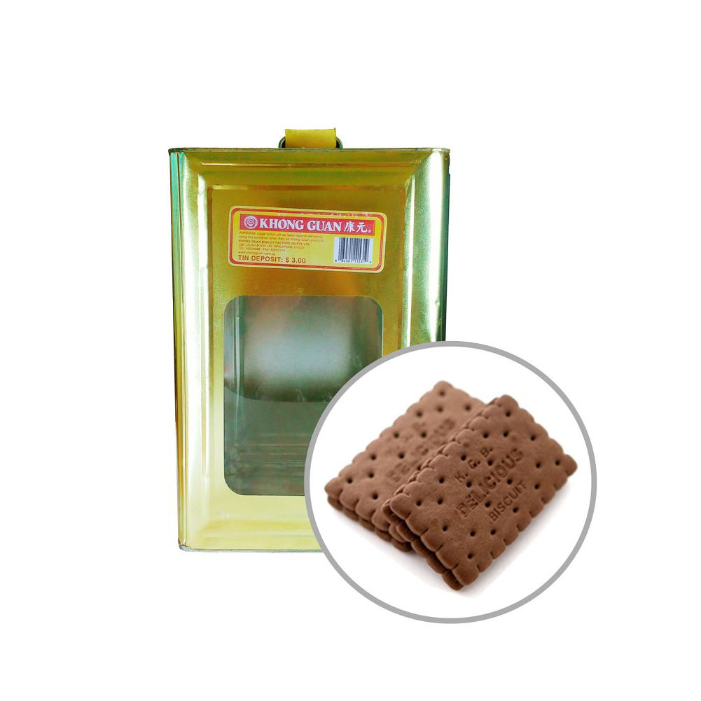 Khong Guan Biscuits Chocolate Cream 6kg Tin