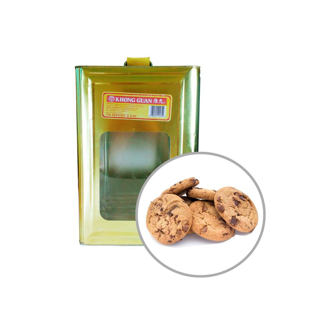 Biscuits Chip More Cookies 4.5kg Tin